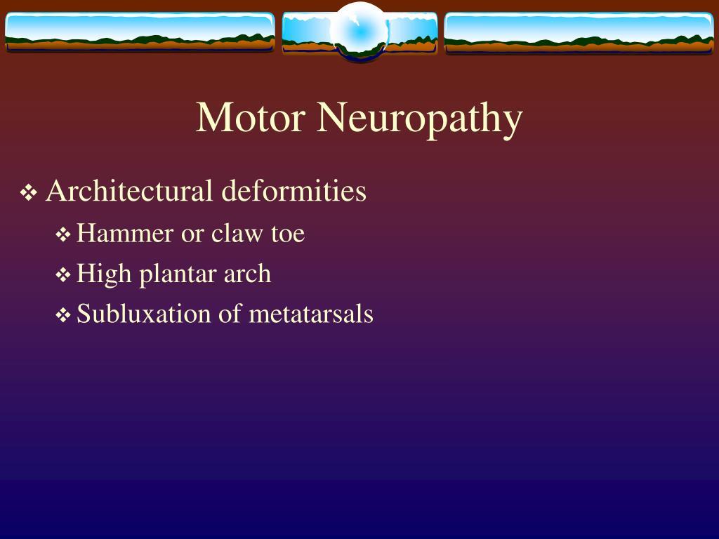 Motor Neuropathy