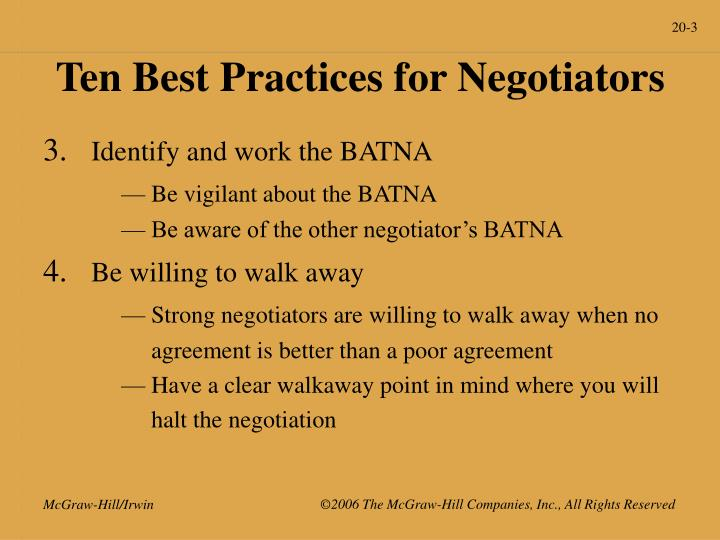 Ten best practices for negotiators3