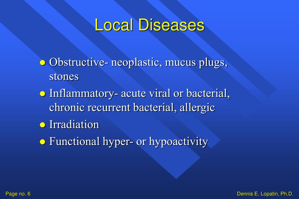 Local Diseases