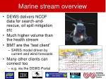 marine stream overview