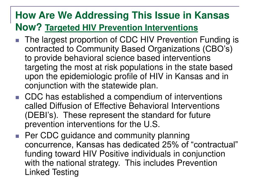 How Are We Addressing This Issue in Kansas Now?