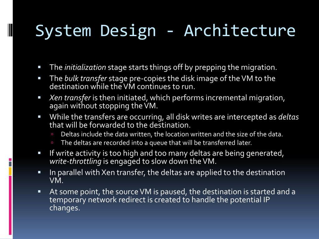 System Design - Architecture