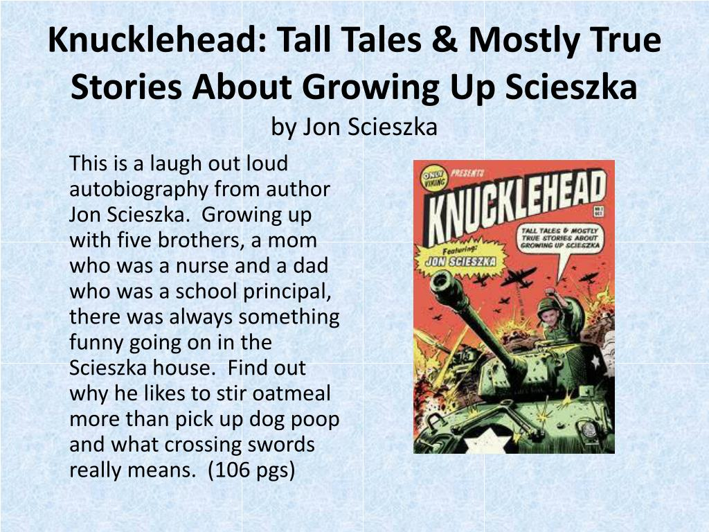 Knucklehead: Tall Tales & Mostly True Stories About Growing Up