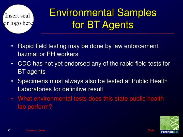 Environmental Samples