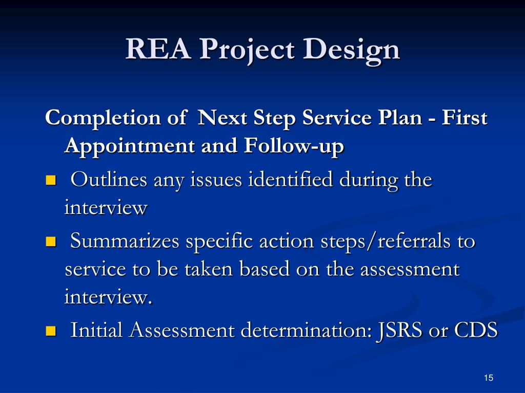 REA Project Design