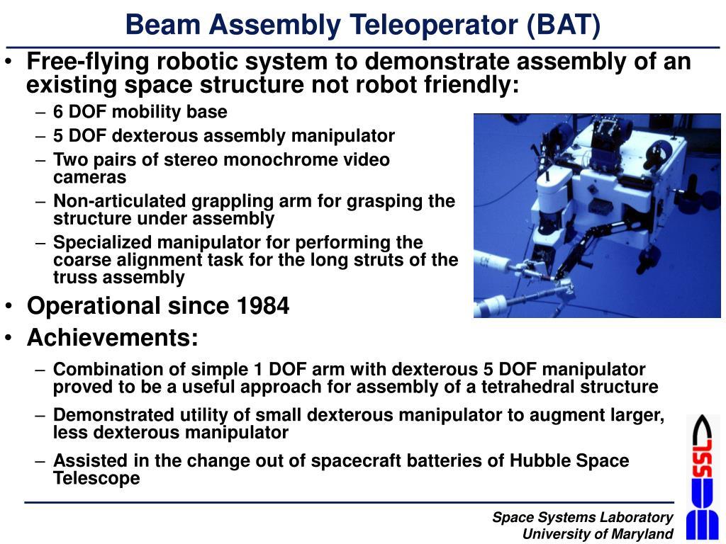 Beam Assembly Teleoperator (BAT)