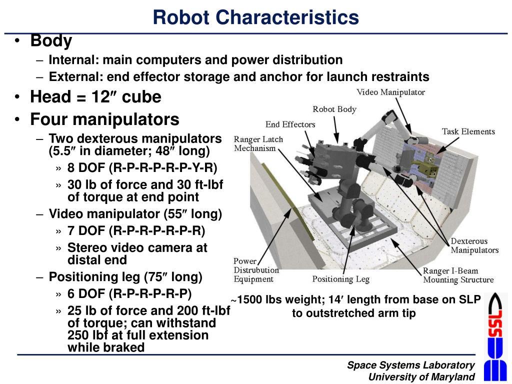 Robot Characteristics