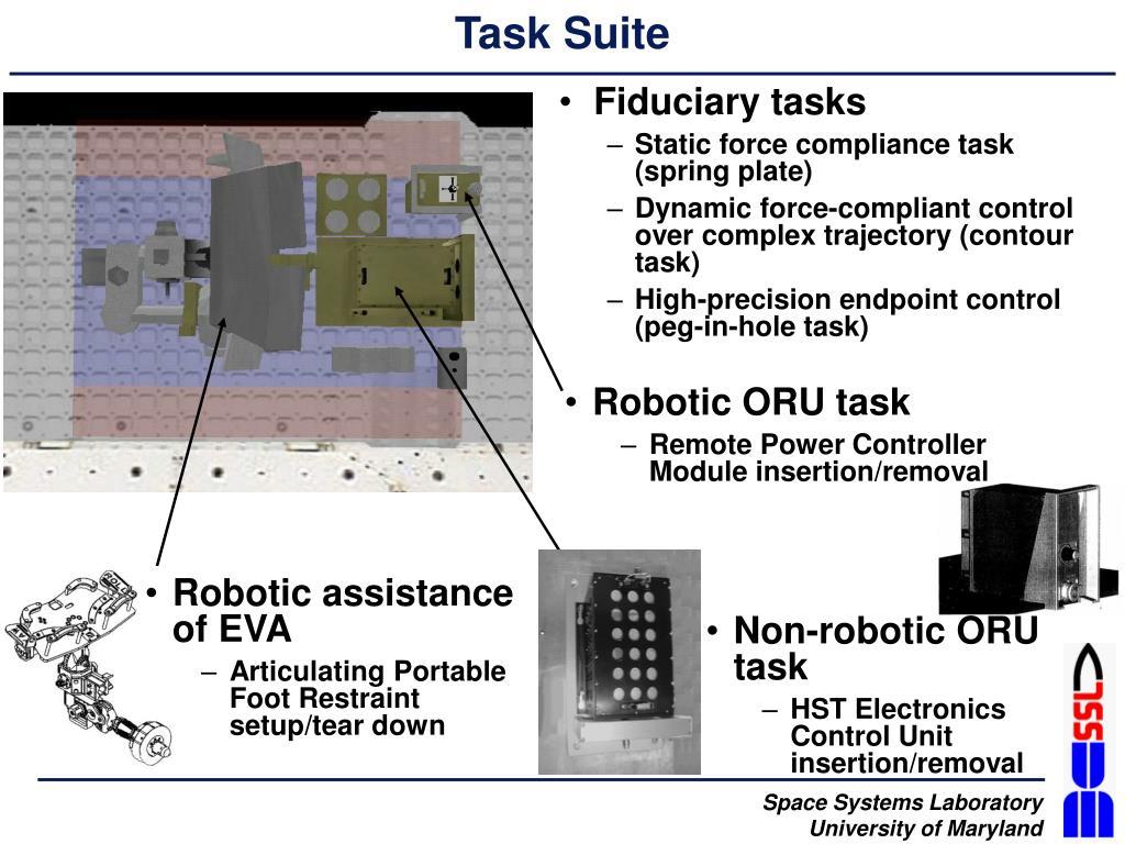Task Suite