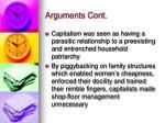 arguments cont