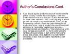 author s conclusions cont44