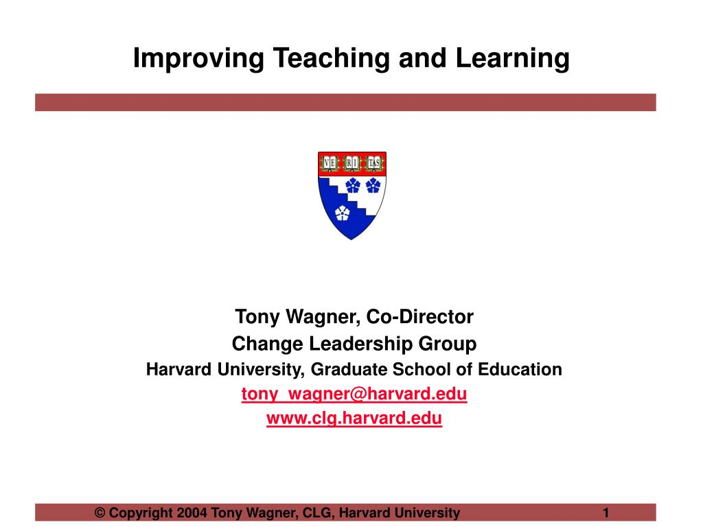 improving teaching and learning l.