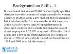 background on skills 1