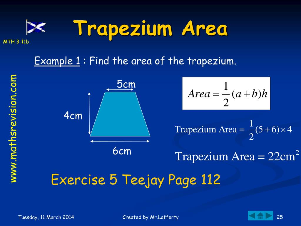 Trapezium Area