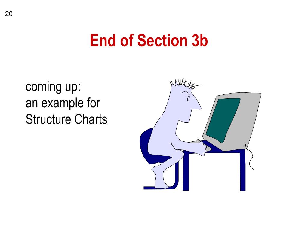 End of Section 3b