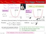 the higgs potential