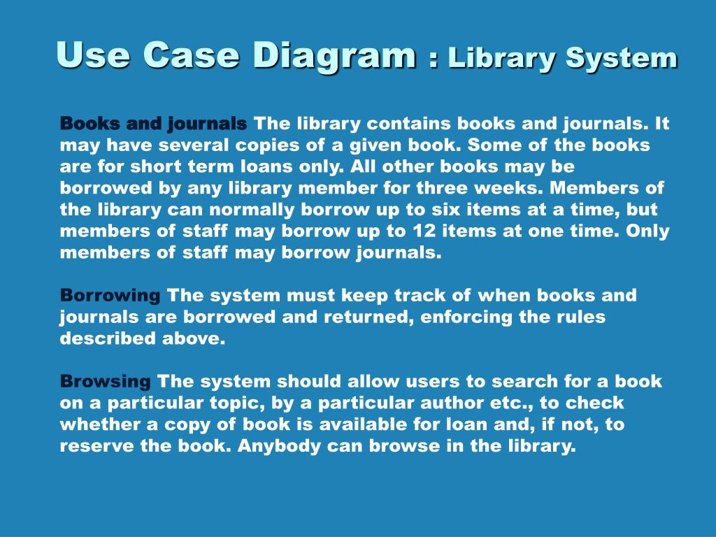 Ppt use case diagram library system powerpoint presentation id use case diagram library system l ccuart Images
