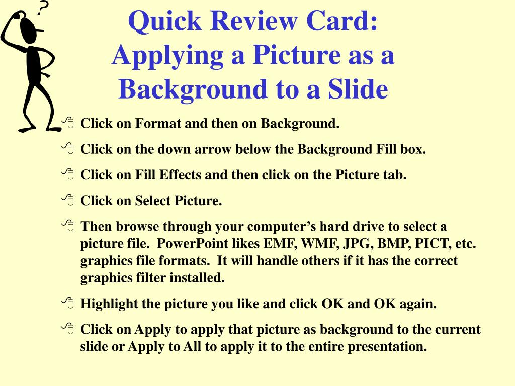 Quick Review Card: