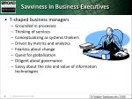 savviness in business executives