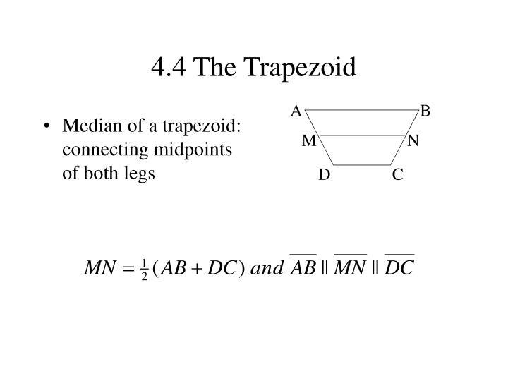 4.4 The Trapezoid