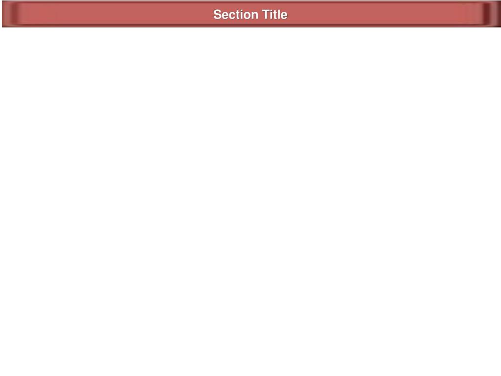 Section Title
