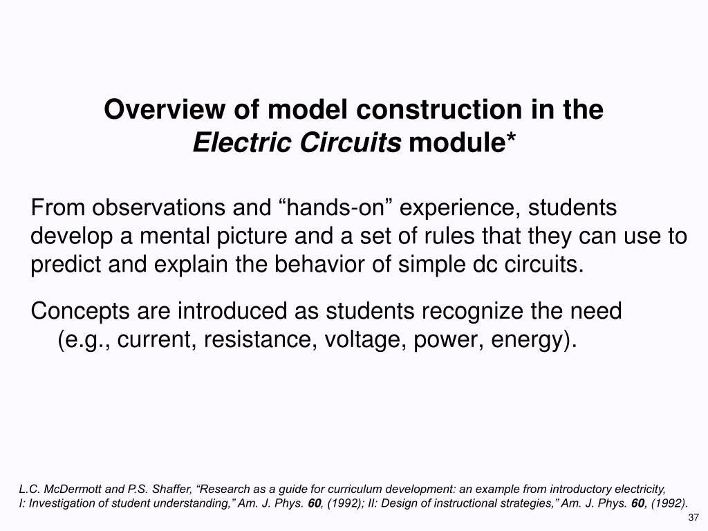 Overview of model construction in the