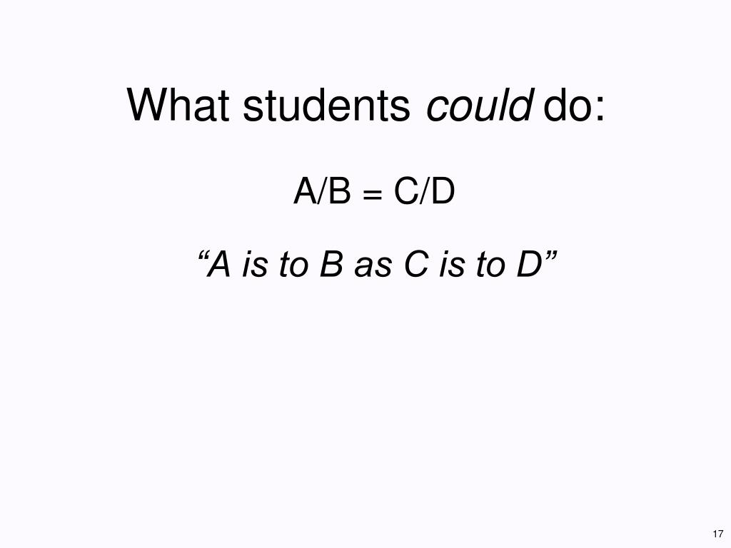What students
