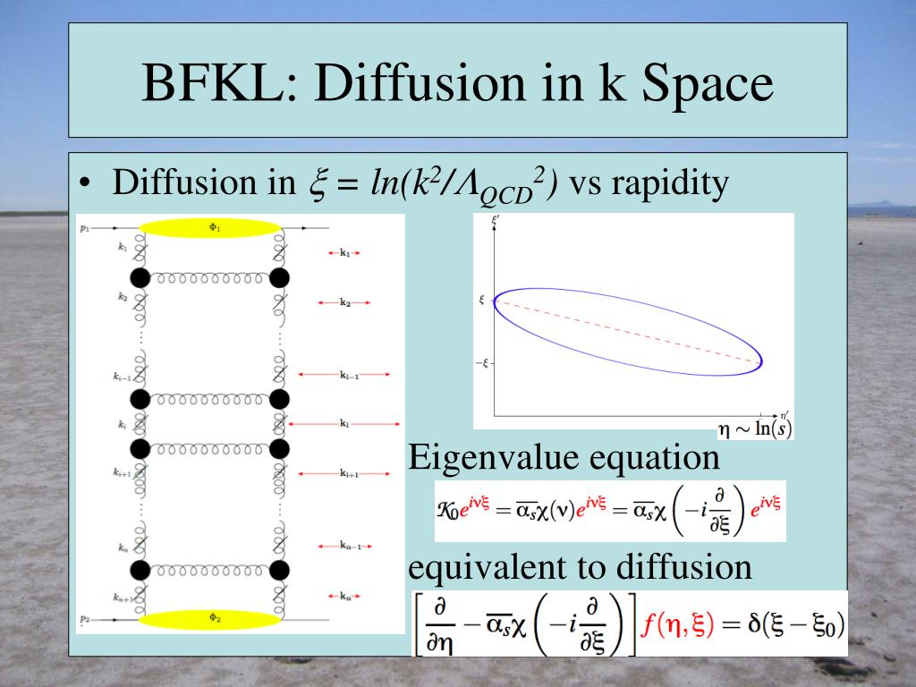 BFKL: Diffusion in k Space