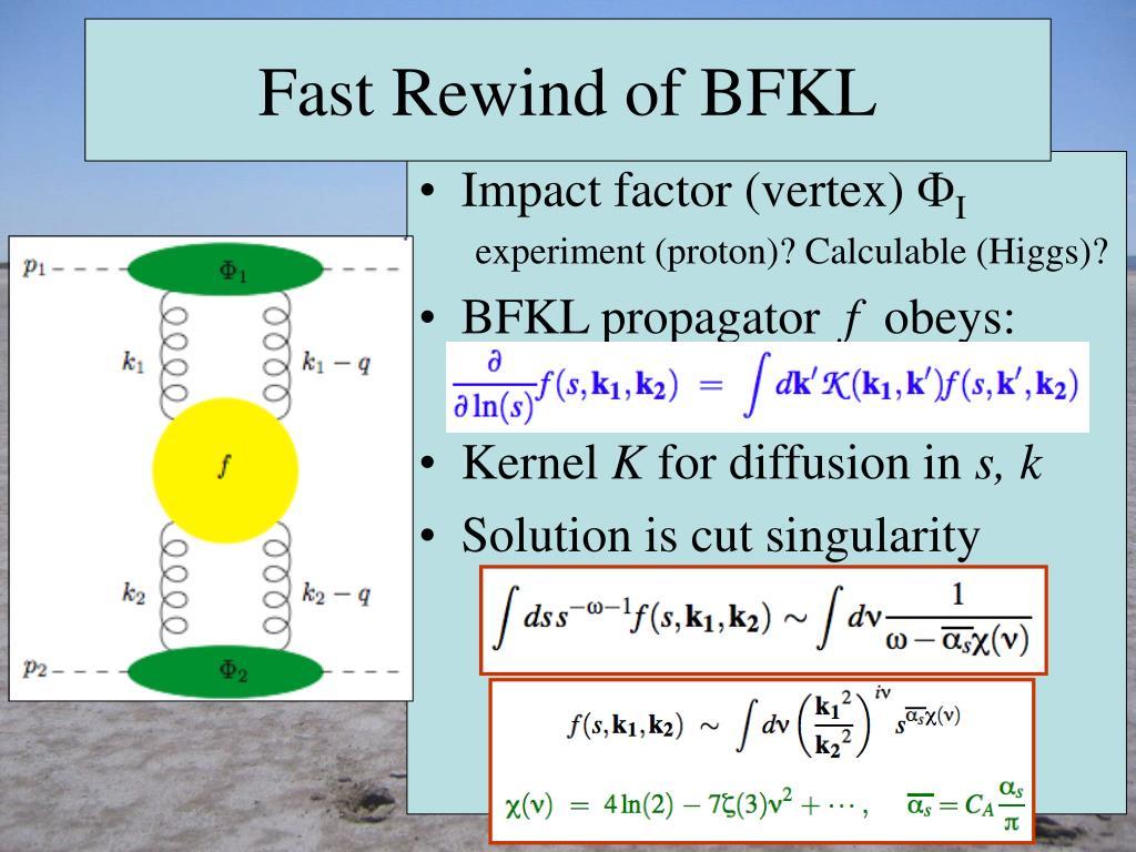 Fast Rewind of BFKL