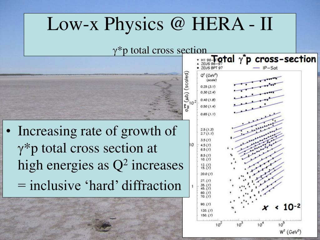 Low-x Physics @ HERA - II