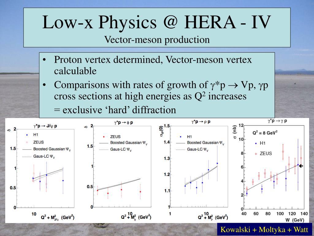 Low-x Physics @ HERA - IV