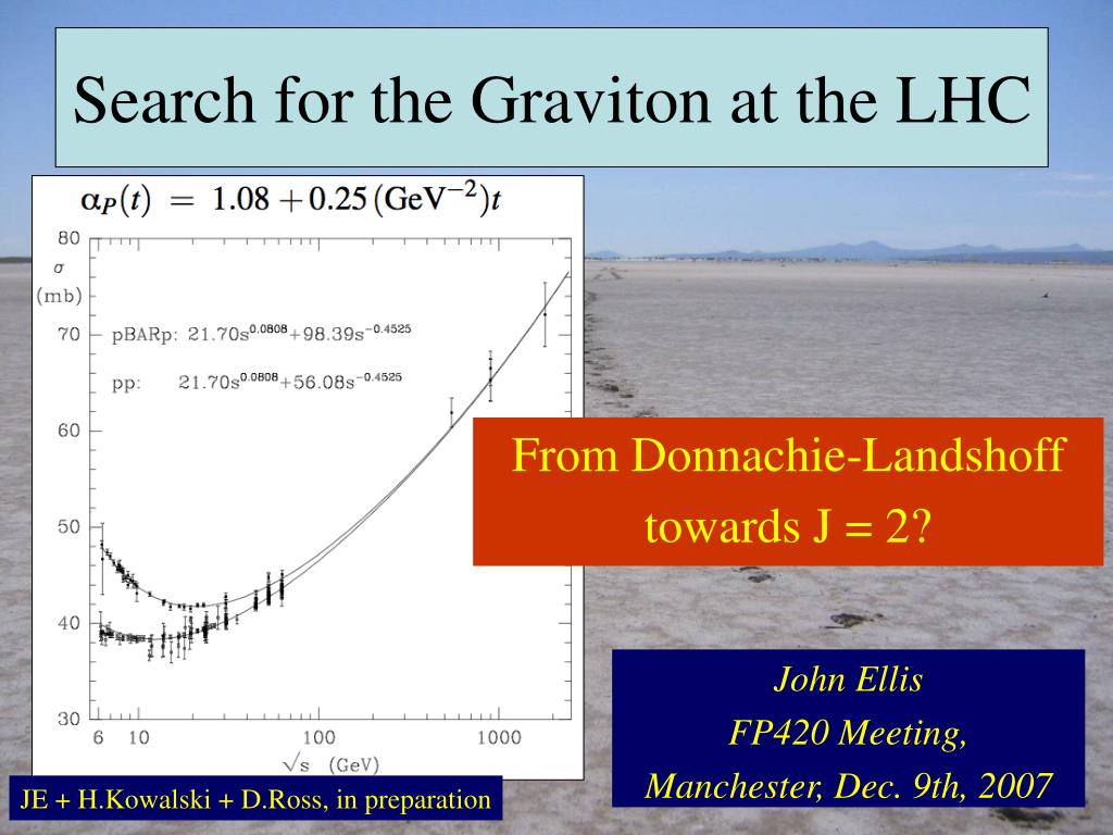 Search for the Graviton at the LHC