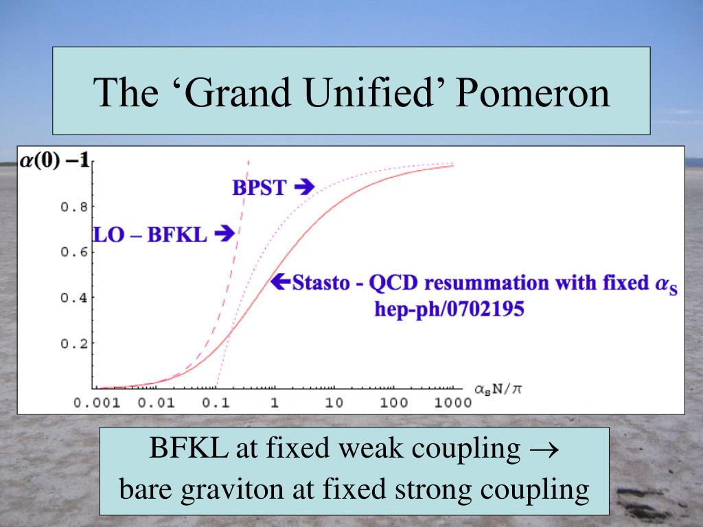 The 'Grand Unified' Pomeron