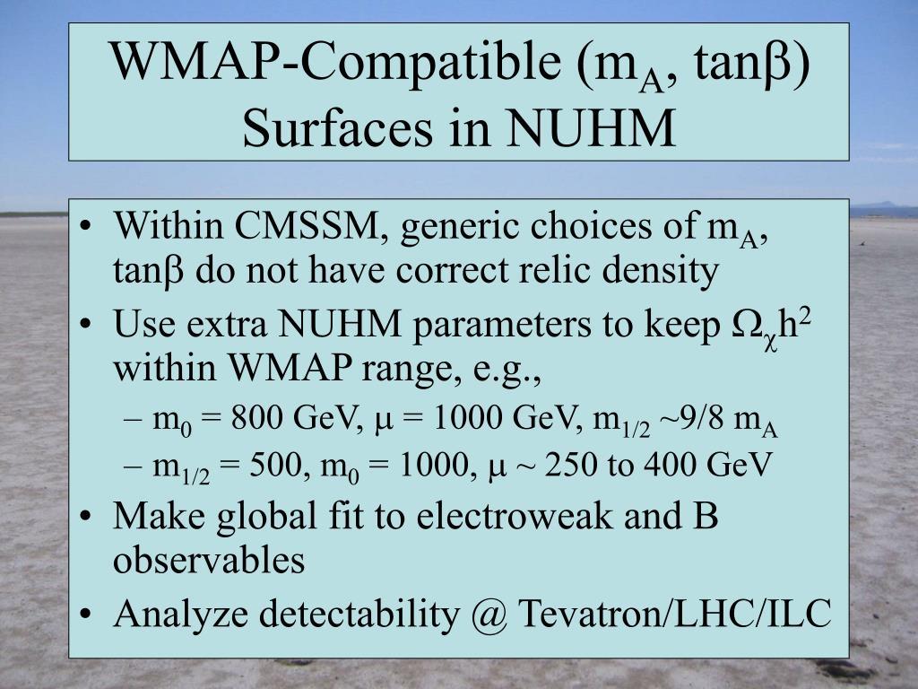 WMAP-Compatible (m