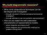 why build diagrammatic reasoners