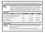 core 2667 hcm functionality enhancements