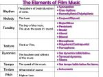 the elements of film music