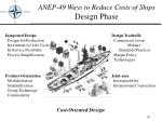 anep 49 ways to reduce costs of ships design phase