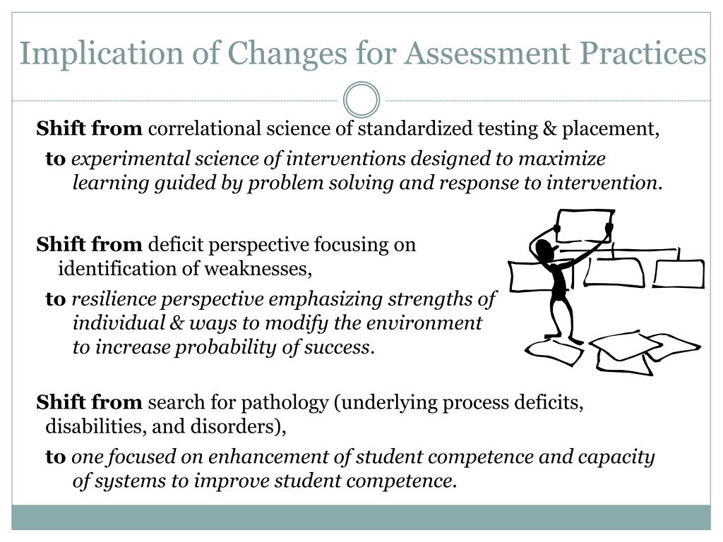 Implication of Changes for Assessment Practices