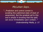 mcluhan says17