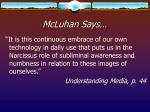 mcluhan says19