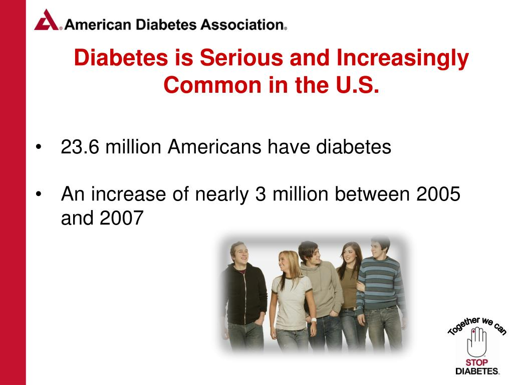 Diabetes is Serious and Increasingly Common in the U.S.
