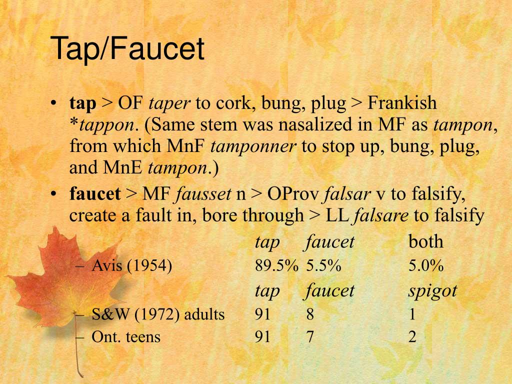Tap/Faucet
