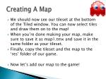 creating a map14