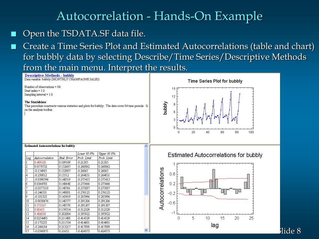 Autocorrelation - Hands-On Example