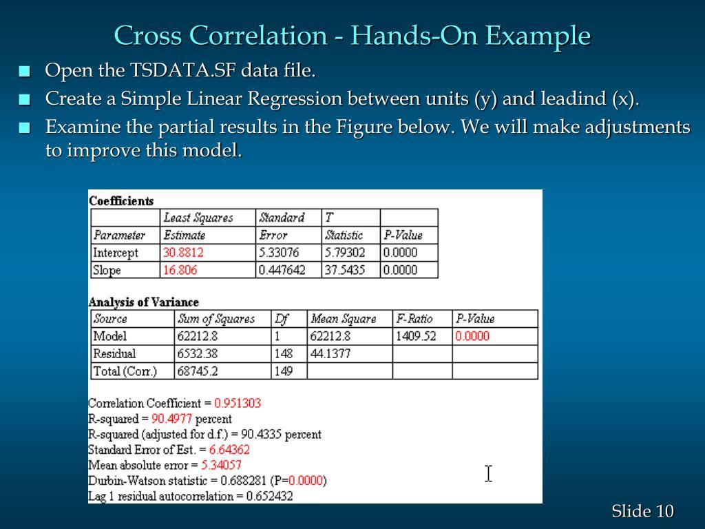 Cross Correlation - Hands-On Example