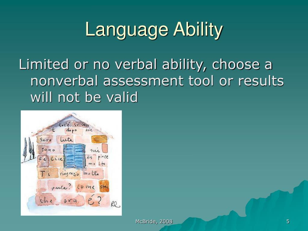 Language Ability