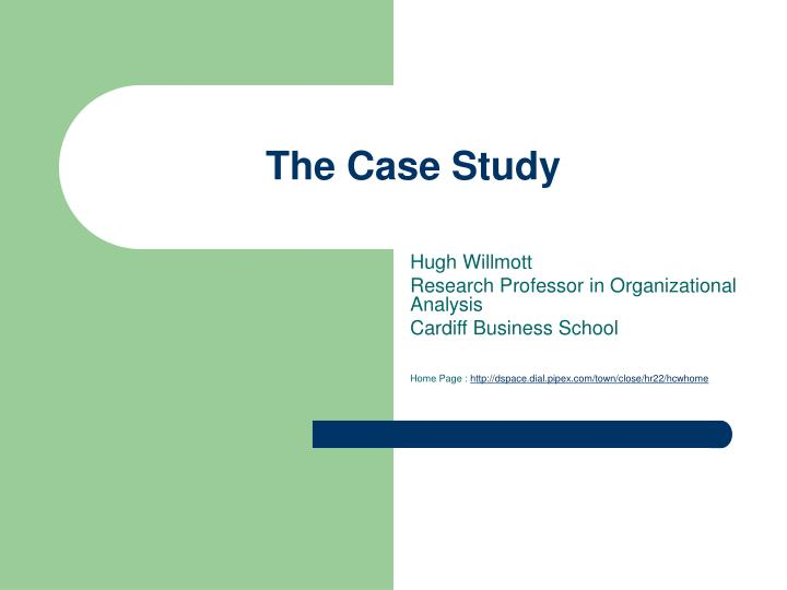the case study n.