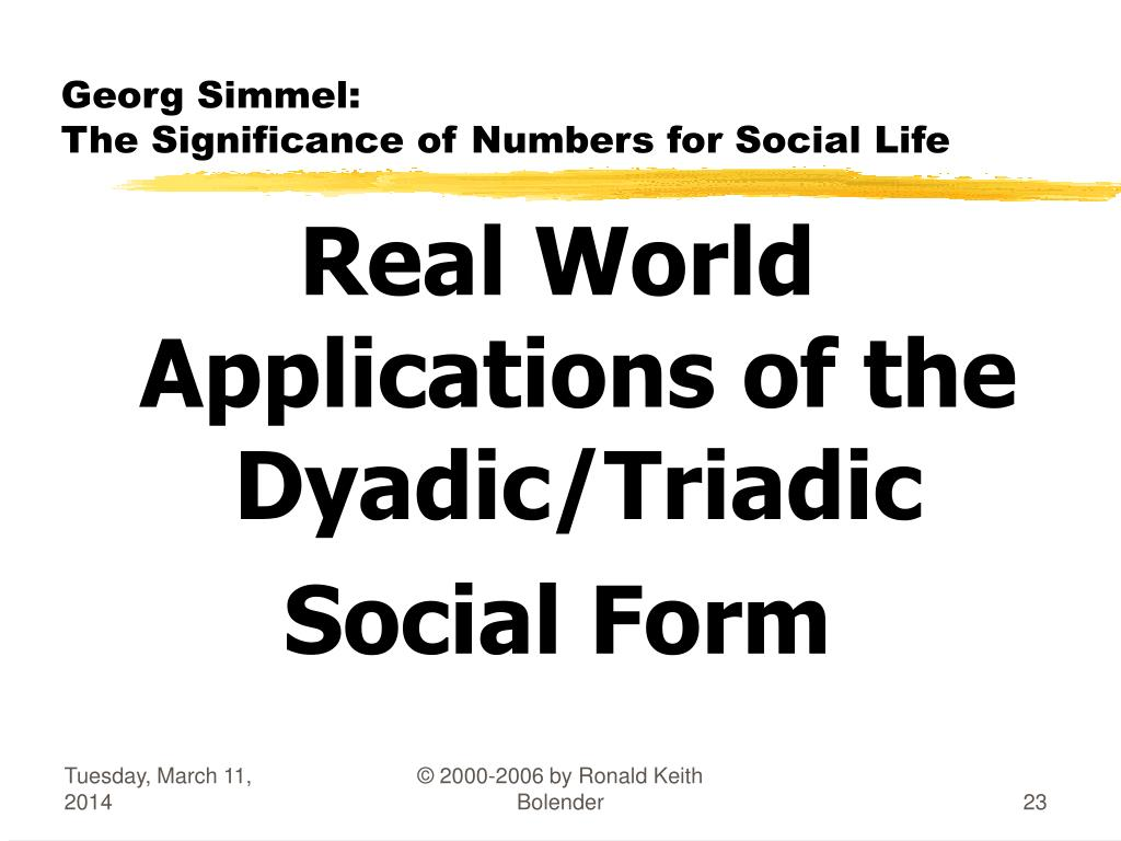 contribution of georg simmel to sociology