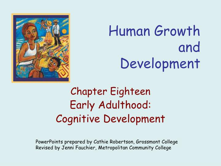 human growth and development n.