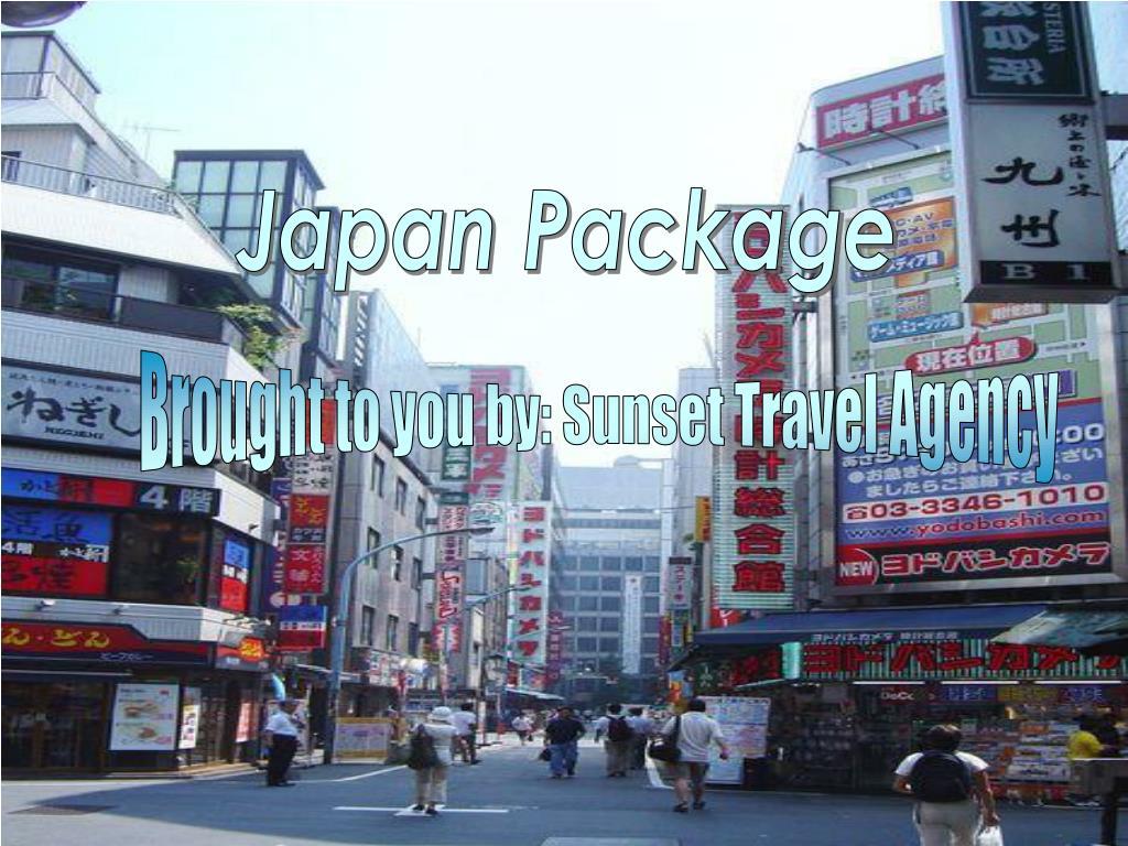 japan package l.